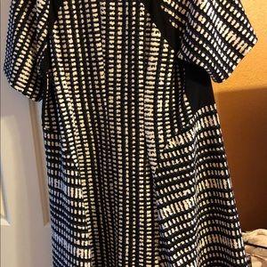 Avenue patterned dress.
